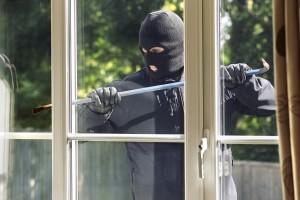 Einbrecher Fenster