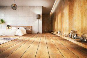 Schöner Holzboden