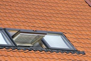 schräges Dachfenster